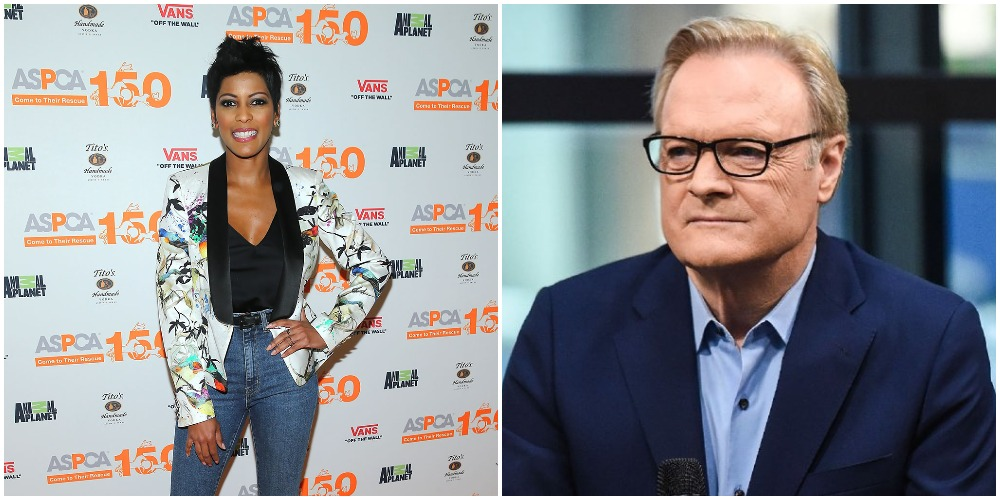 did tamron hall dating lawrence odonnell