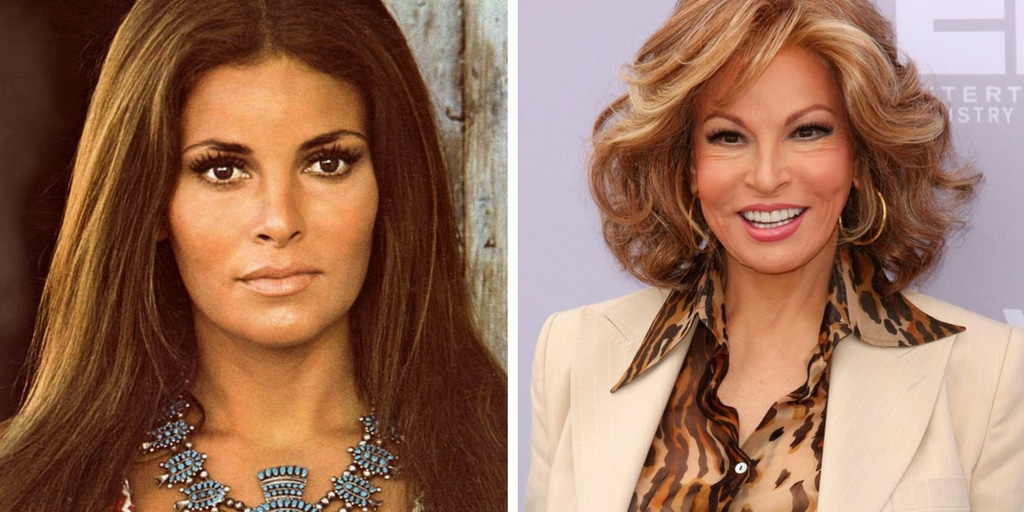 Raquel Welch\' Hairstyles and Wigs, Young and Now. Her Age ...