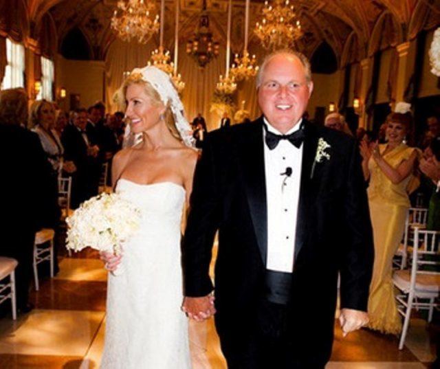 Kathryn Adams Limbaugh and husband Rush Limbaugh