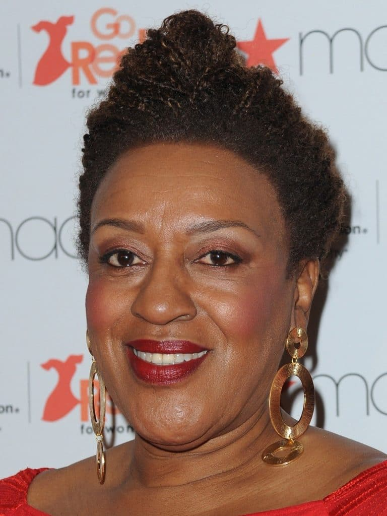 CCH Pounder sitting down