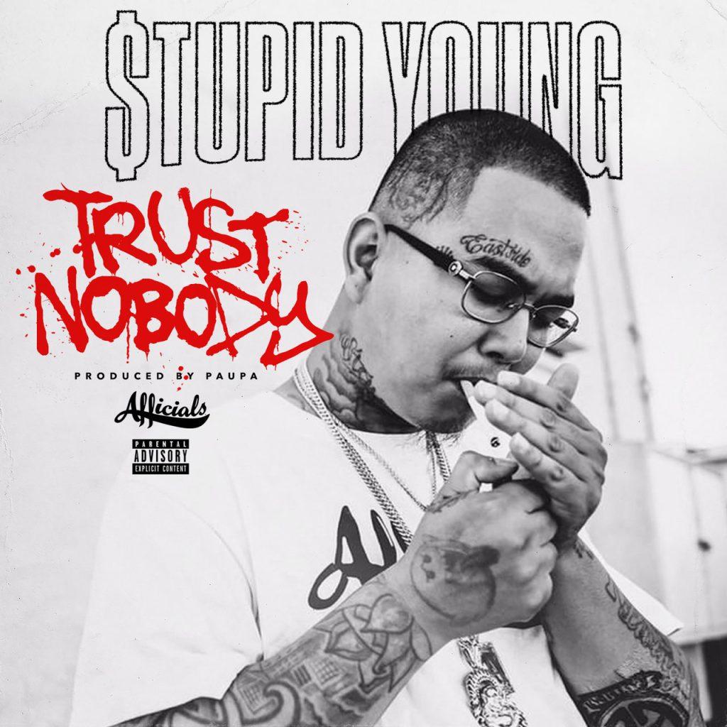 Stupid Young merch, mando, trust nobody